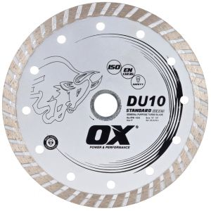 Image for OX DU10 Standard Turbo General Purpose Diamond Blade
