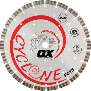 Image for OX Professional PC15 Supercut Segmented Diamond Blade