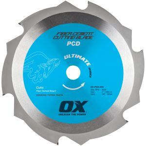 Image for OX Ultimate PCD Fiber Cement Blade