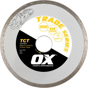 Image for OX Trade TCT Continuous Rim Diamond Blade - Ceramics