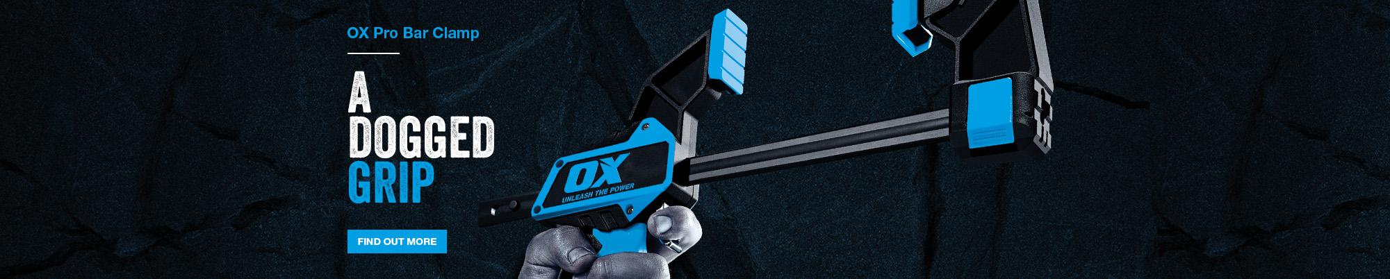 Ox Pro Bar Clamp